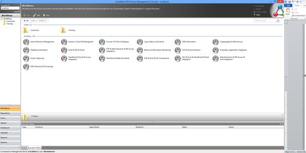 Server Management Console