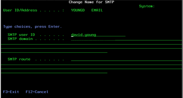 configuring qmessage monitor to send email via snads - As400 Computer System