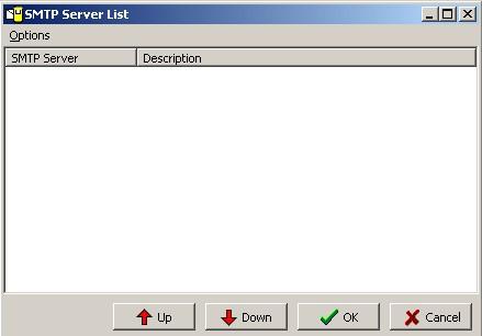 SMTP Server List