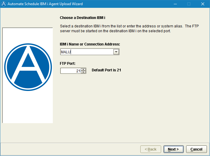 Installing or Updating Automate Schedule Agents on the IBM i