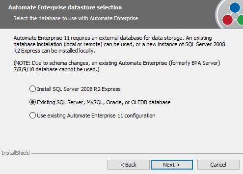 Database Configuration · Customer Portal