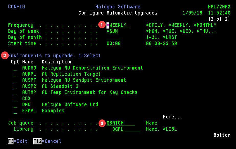 Configure Automatic Upgrades