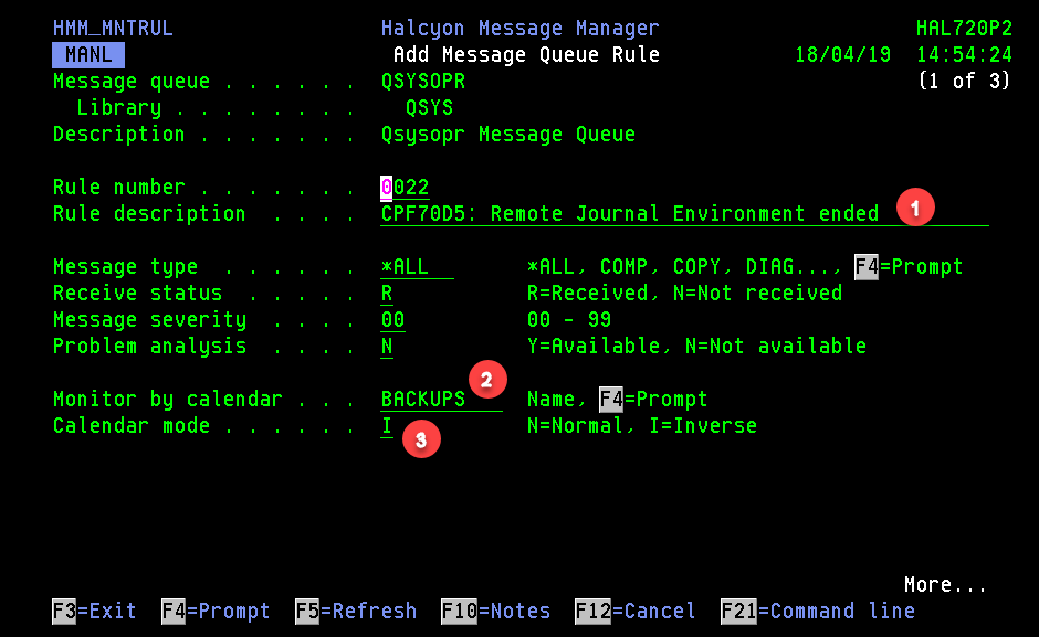 How To Use A Calendar Within Message Monitoring · Customer Portal