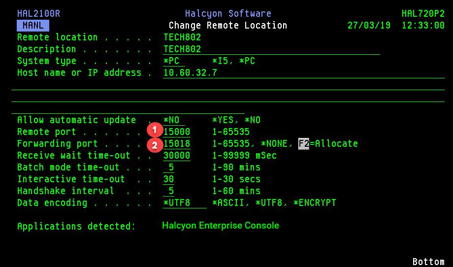 Remote Console For Enterprise Console