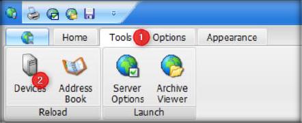 Enterprise Console Devices