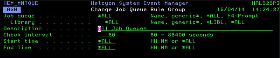 Specifying All Job Queues