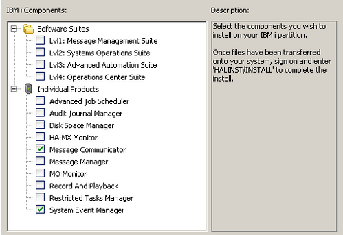 Spooled File Manager Component Installation