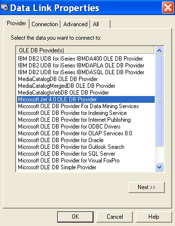 Install and Test OLE DB Provider · Customer Portal